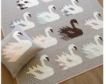 Swan Island - paper pattern by Elizabeth Hartman