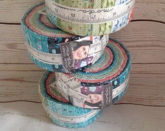 Jelly Roll Fabric | Coledale Quilt Jane for Moda | patchwork fabric | quilters cotton