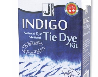Indigo Tie Dye Kit | Shibori Dyeing Kit