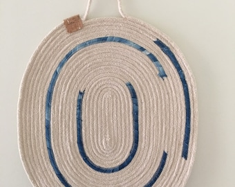 Rope Wall Hanging | Trivet | Rope Trivet | Wall Hanging | Placemat