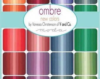 Half Yard Ombre New Colours  by Vand Co for Moda | patchwork fabric | quilters cotton | modern fabric