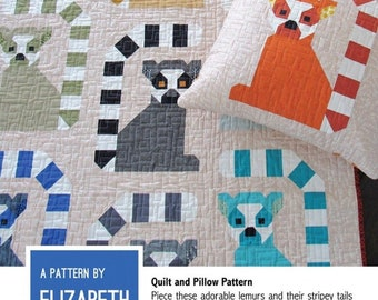 Lana Lemur - hard copy pattern by Elizabeth Hartman