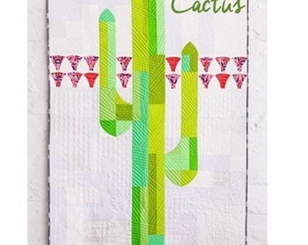 Sew Kind of Wonderful pattern | Mod Cactus | QCR mini | Quick Curve Ruler