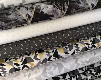 Fat Quarter bundle - Libs Elliott - When Sparks Fly | Modern Fabric | Low Volume Fabric