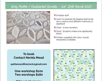 Grey Matter / Enchanted Garden workshop with Jane Davidson at Glass House Mountains   Saturday 20 March