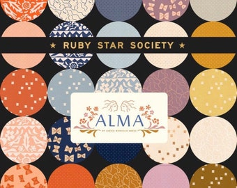 Alma and Add It Up - Ruby Star Society for Moda | patchwork fabric | quilters cotton | modern fabric