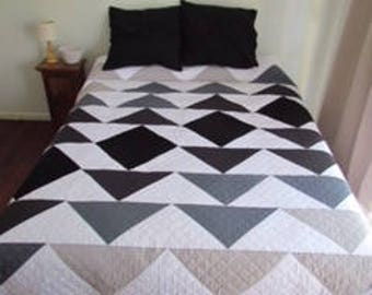 Paper Pattern - Ombre Flying Geese - Modern Quilt