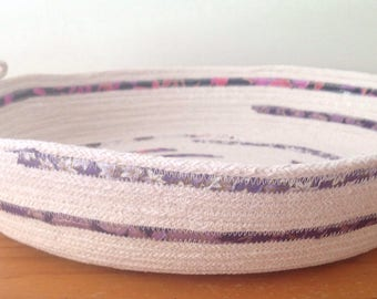 Extra Large Storage Basket | Rope Bowl | Cotton Rope Bowl | Home Decor