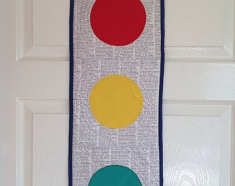 Traffic Lights Wall Hanging  | Bedroom Decor | Home and Living