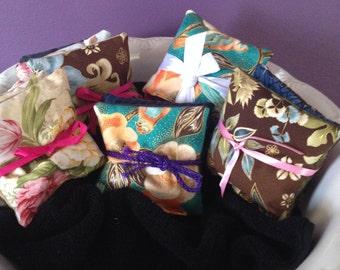 Lavender Sachets - set of 3 mixed prints