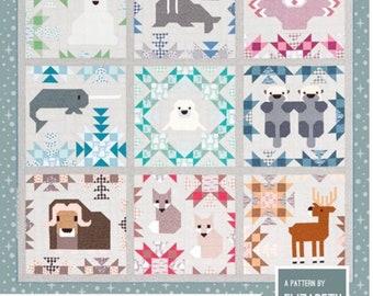 North Star Sampler Quilt - paper pattern by Elizabeth Hartman