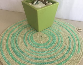 Rope Wall Hanging | Trivet | Rope Trivet | Wall Hanging or Placemat