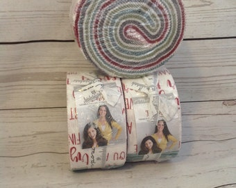 Jelly Roll - Flourish  fabric for Moda, by Natalia and Kathleen of Pieced and Quilt | quilters cotton, fabric, modern fabric