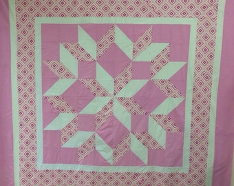 Paper Pattern - Carpenters Star Quilt - Paper Sewing Pattern