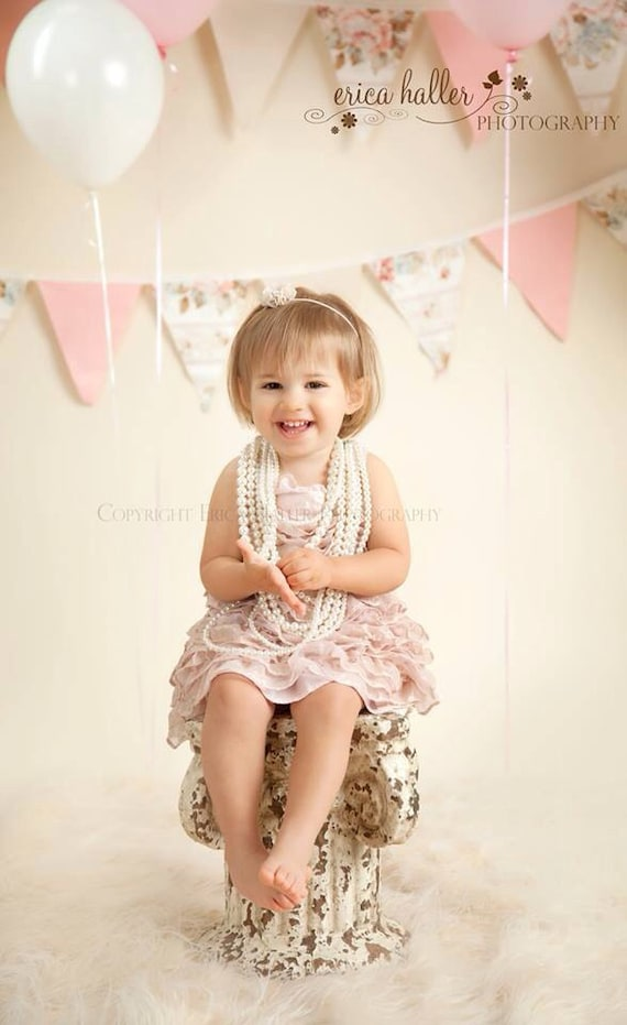 Petite Elegance Mini Navy Chiffon Flower Headband or Clip Beautiful Newborn Baby Toddler Adult Photo Prop
