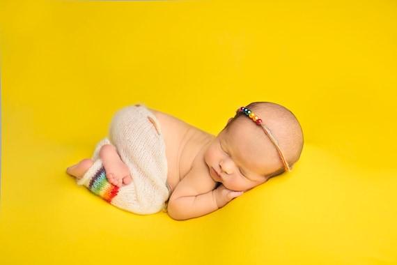 Rainbow Pants, Newborn Photos, Newborn Pants, Rainbow Baby, Rainbow Baby Photo Prop, Rainbow Baby Newborn Prop, Rainbow Baby Set, Mohair