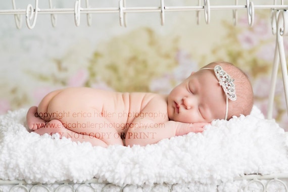 Pretty as a Princess Collection Princess Crown Vintage Headband Beautiful Newborn Photo Prop Baby Toddler Adult