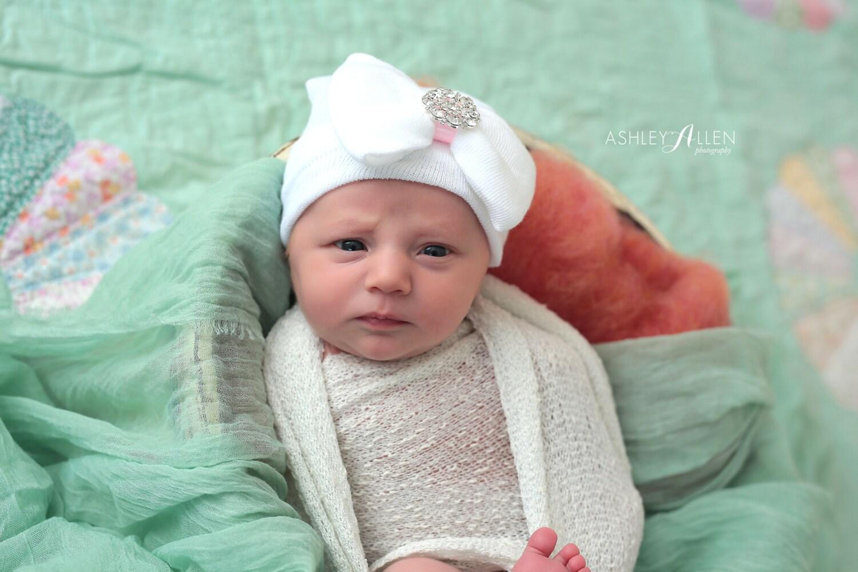 f3ec83dd8 Rhinestone Pearl Newborn Hat, Newborn Hat, Baby Hat, Hospital Hat ...