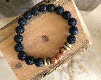 Mens Lava Tribe Bracelet