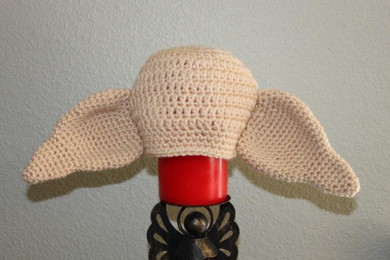 Crochet Dobby the house elf hat. Harry Potter character hat  f2fb86d3c9e