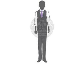 Silhouette Wedding Program - Groom 29