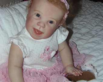 Reborn baby toddler! Ready to ship! Crawler baby! With torso....must see!!!!