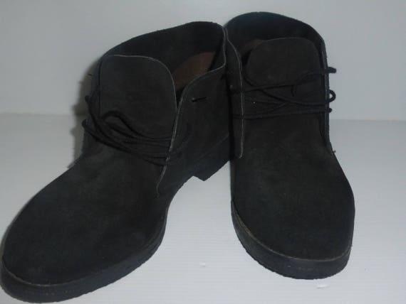 A010218SH1 Size 10-11 Vintage Genuine Suede PETER