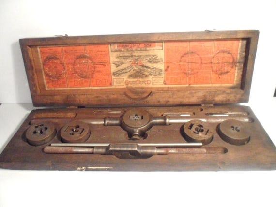 2 2516 Antique Galt Little Giant 2 TAP U0026 DIE Plate Kit   Etsy
