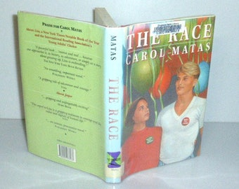 111517BB11 FIRST EDITION 1991 The Race Carol Matas Hardcover 1st Edition with Dust Jacket