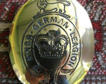 KGL cross belt plate brass
