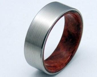 Redwood burl ring Etsy