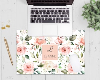 Salon Receptionist Gift Teen Gift Gift For Her Makeup Artist Gift Makeup Mouse Pad and Coaster Set Desk Accessories