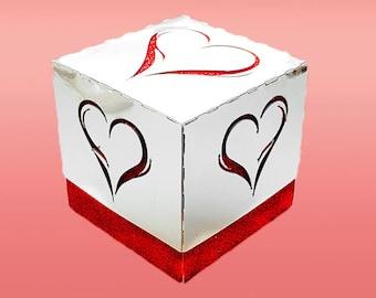 Elegant Heart Gift Box DIGITAL download