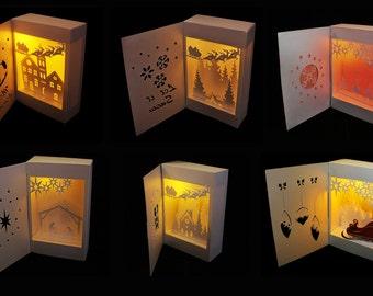 shadow box svg etsy