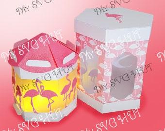 Flamingo Lantern WITH gift box DIGITAL download