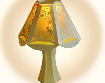 3D SVG Table Lamp Digital download