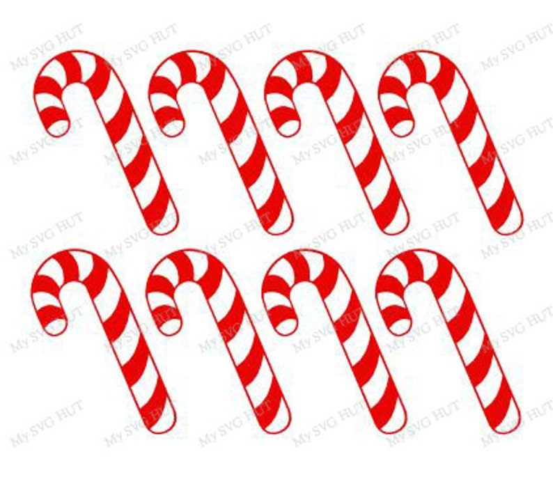 Candy Canes template