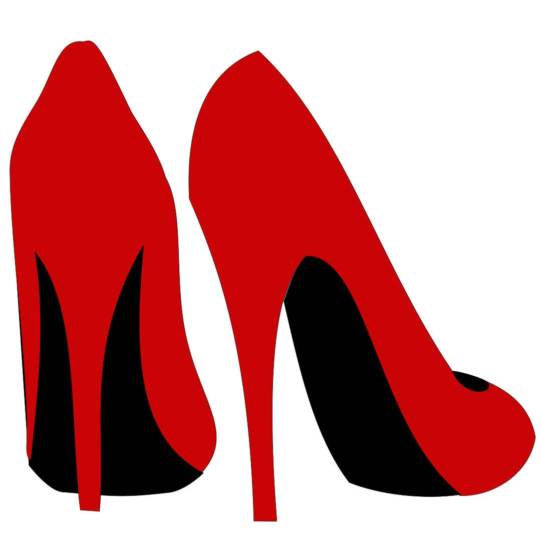 High Heel Shoe template With Regard To High Heel Template For Cards
