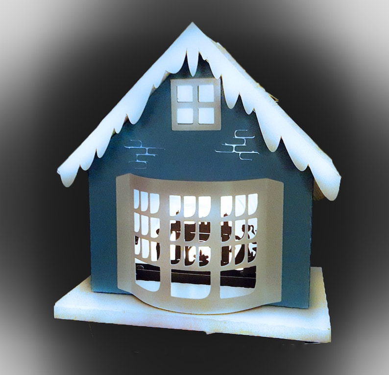3D Christmas House One More Sleep template image 0