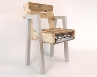 Reclaimed Pallet Wood Chair