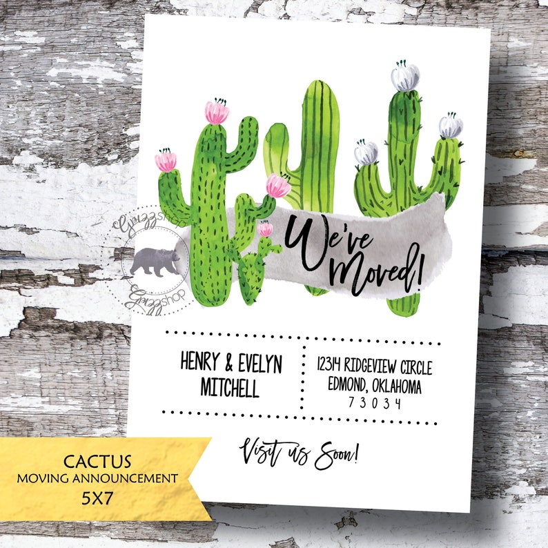 Cactus Moving Announcement