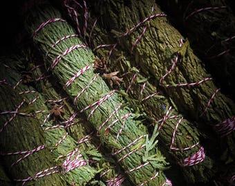 Cedar Smudge Bundle ~ Smudging ~ Incense ~ Sacred ~ Witchcraft