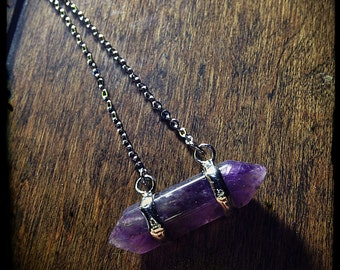 Captured Amethyst Amulet - Witchcraft ~ Talisman ~ Amulet ~ Pagan ~ Paganism ~ Pagans ~