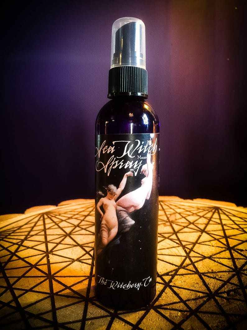 Sea Witch Spray ~ Witchcraft ~ Wiccan ~ Spell ~ Craft ~ Ritual Spray -  Altar - Wiccan