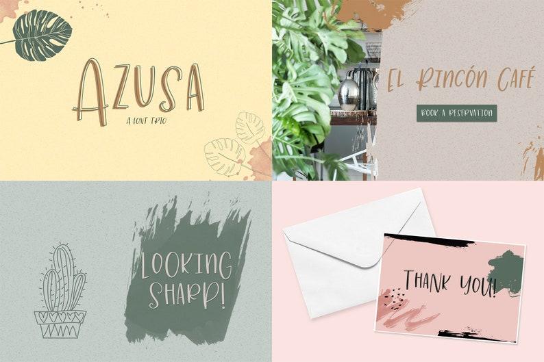 Download The Cute Crafter's Font Bundle Cricut Fonts Cursive | Etsy