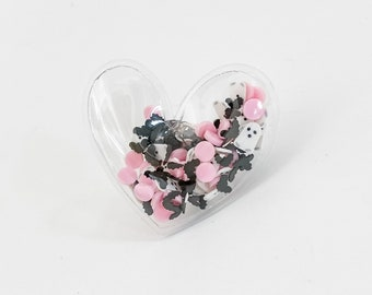 Bootiful Heart Shaker Ring | Valentines Ring