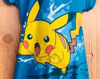 8c5a1b9b Pikachu T-shirt, Pokémon T-shirt, T-shirt romper, Boys T-shirt Romper, Boys  romper, Poke'mon Onesie, Pokémon Birthday T-shirt, Pikachu 12-24