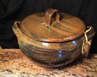 Casserole pot dish ceramic stoneware