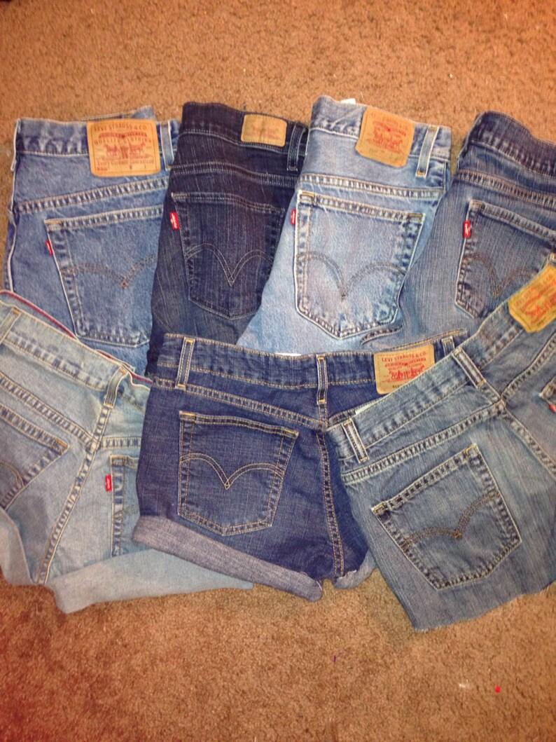 LEVI'S High Waisted Vintage Shorts / High Waisted Shorts image 0
