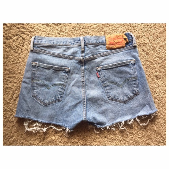 levis shorts womens high waisted